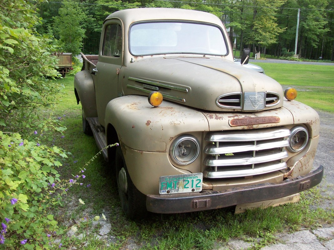 Ford Mercury Classic Pickup Trucks 1948 1949 1950 1951 1952 1953 1950s F100 F1 F47